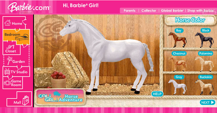 Barbie-Horse Adventure