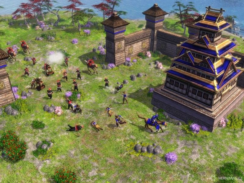 Napadení hradu – Age of Empires III: The Asian Dynasties