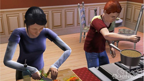 The Sims 3 – oficiální screen