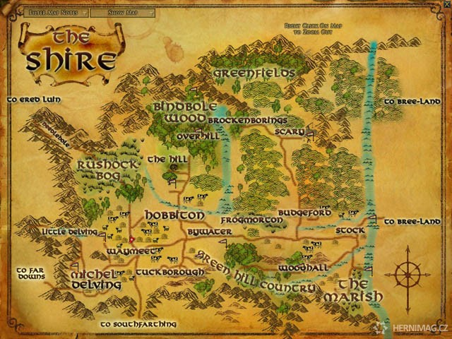 Lord of the Rings Online (http://www.hernimag.cz)