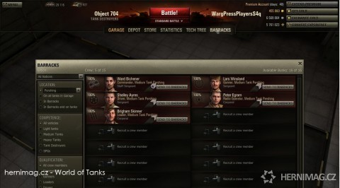 World of Tanks (http://www.hernimag.cz)