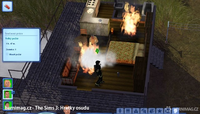 Sims 2 dobrodružství v randění