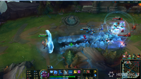 Vhled do League of Legends.