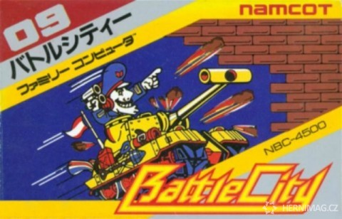 Front cover of Battle City – Famicom