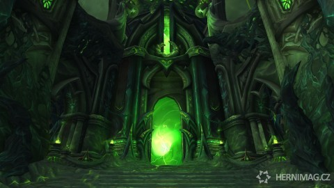 Vstup do raidu Tomb of Sargeras.